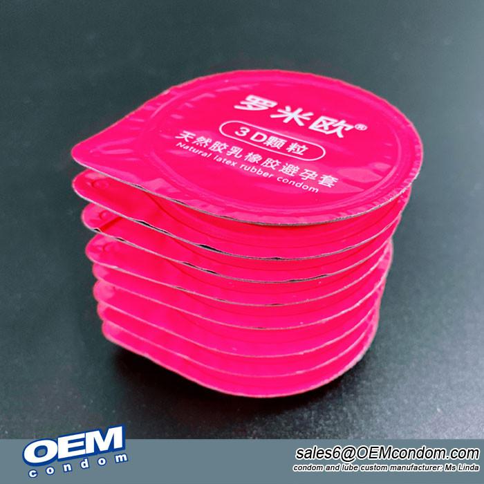buttercup condom manufacturer, custom logo blister condom