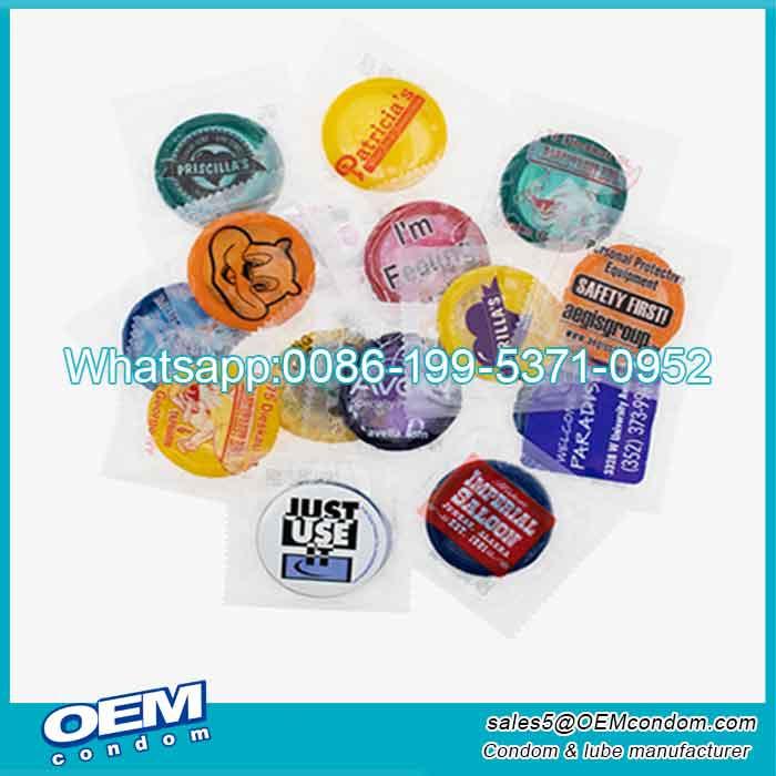 custom condom wrappers