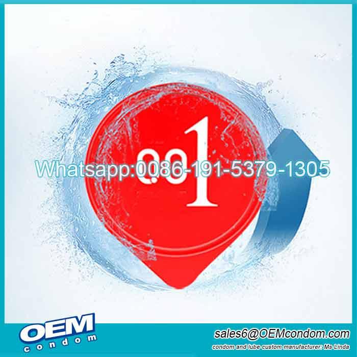 Water Based PU Material 0.02mm condom Super Thin Non Latex Condom Manufacturer