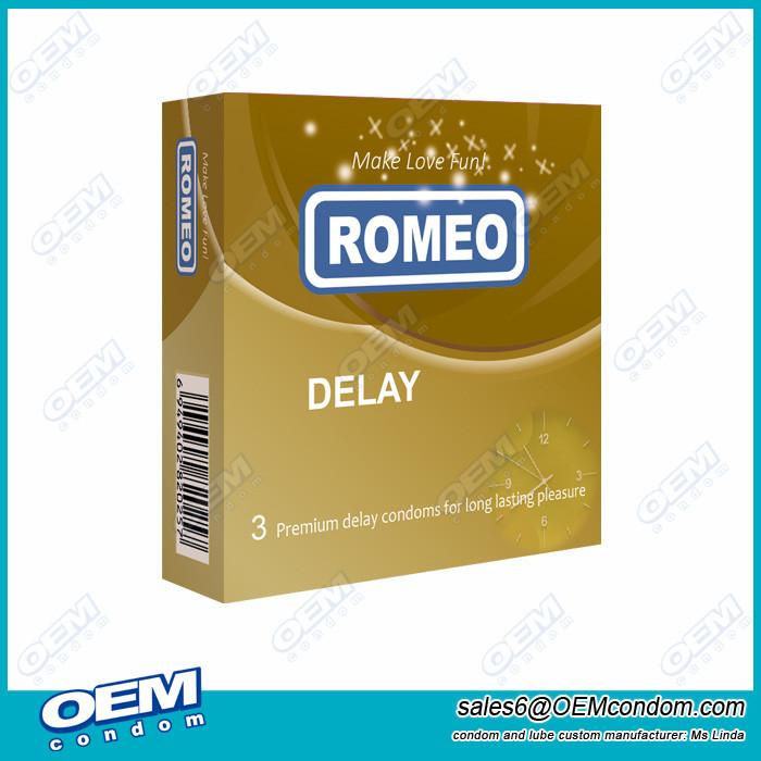 ROMEO brand condom, ROMEO Delay Condom Producer, ROMEO Long Love Condom