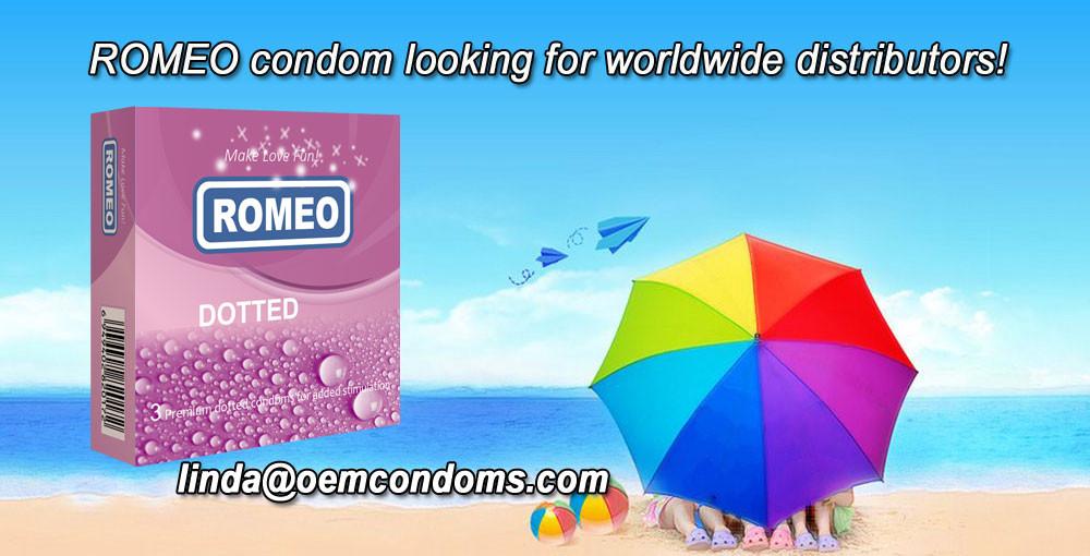 ROMEO condom, ROMEO brand condom supplier, best brand condom manufacturer
