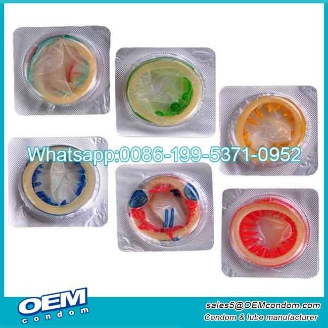 Alien condom manufacturing condoms