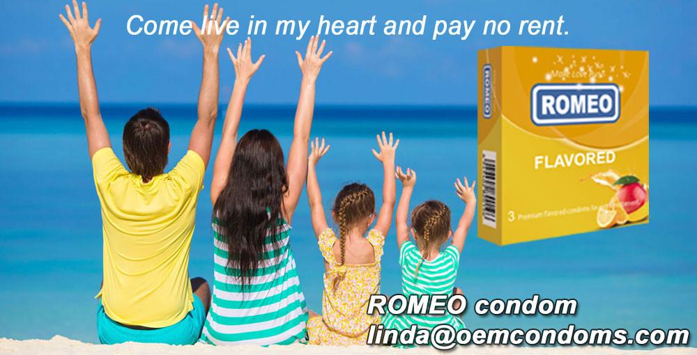 ROMEO Orange Flavour Condom