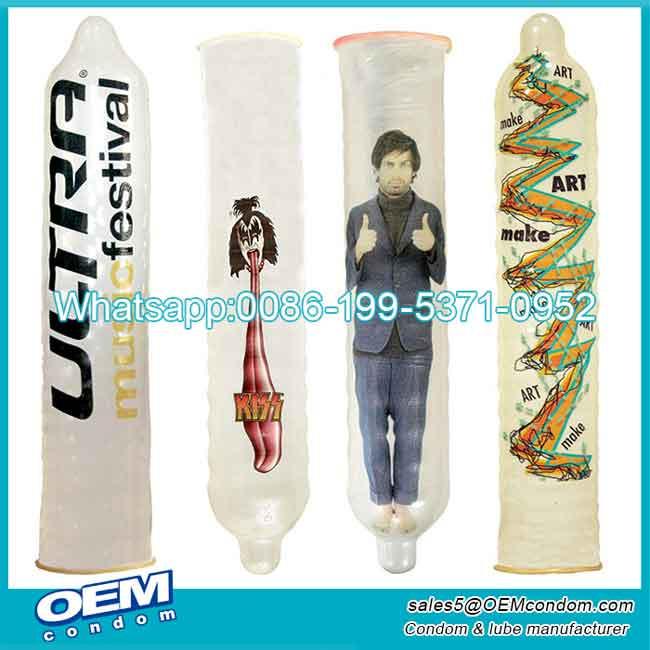 Different Types of Custom Printed Condoms