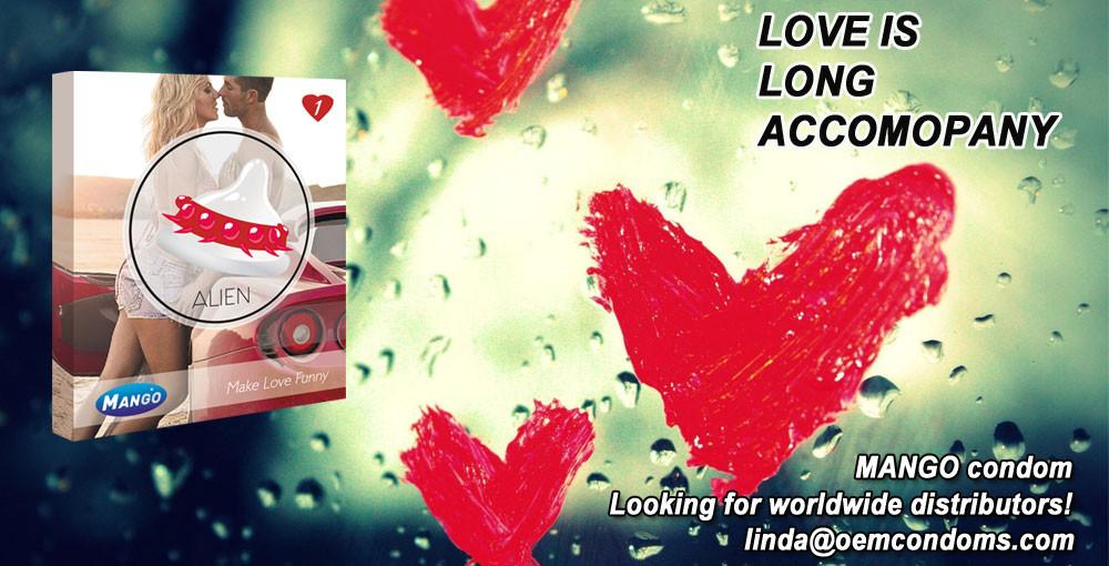 MANGO LOVER, MANGO spike condom, MANGO LOVER supplier