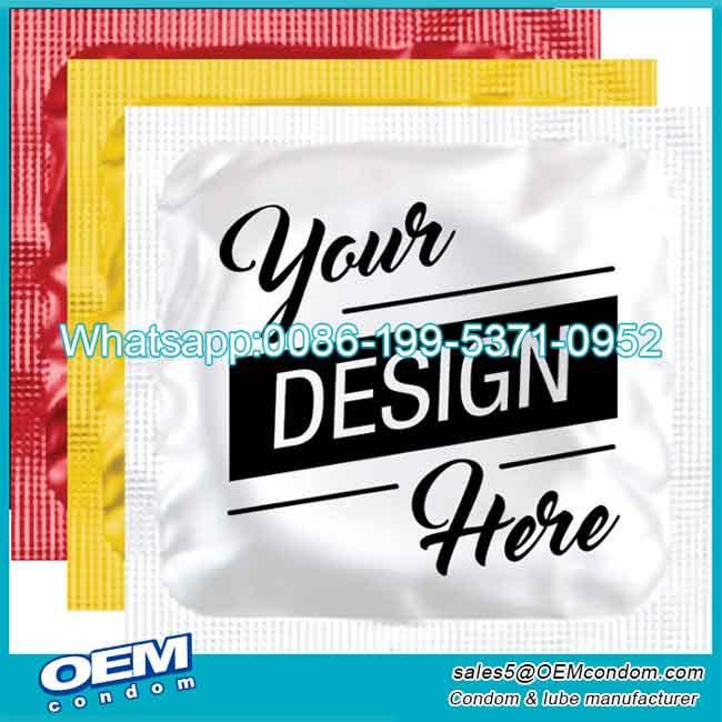 Сustom condoms logo condoms for men