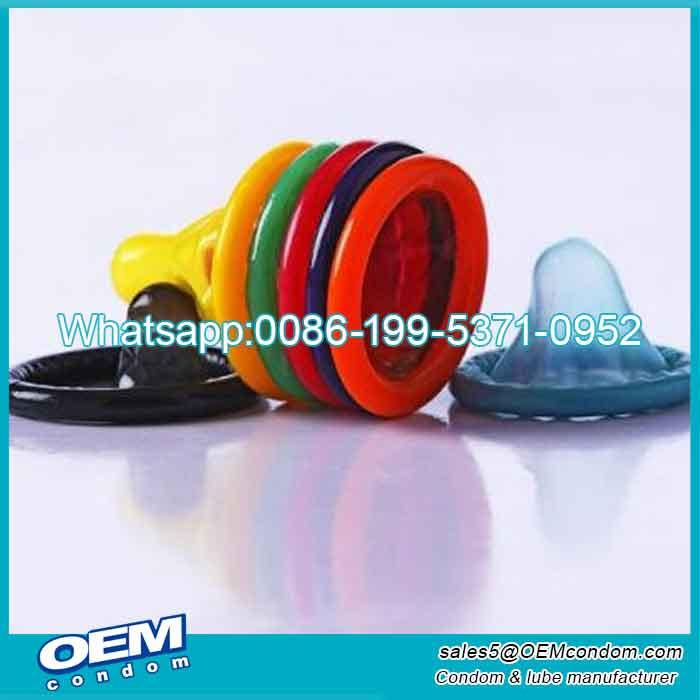 Custom oem flavored condoms