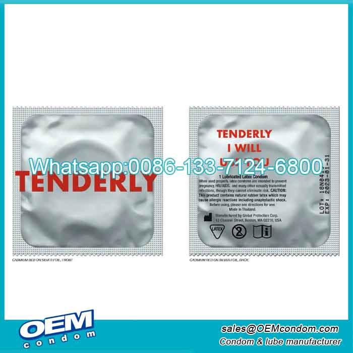 jock strap custom condom wrapper factory supply