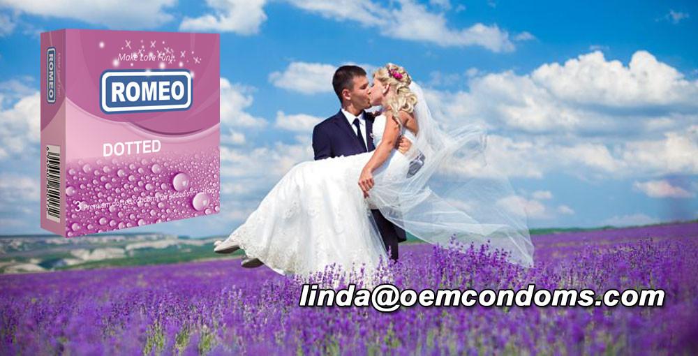 ROMEO brand condom, ROMEO contoured condom, condom manufacturer
