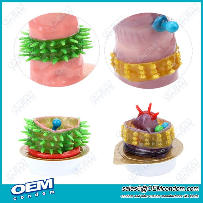 Wholesale custom condom spike condom