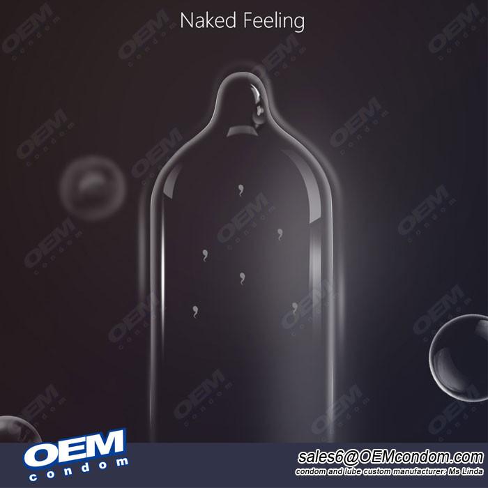 Custom Personalised Ultra Thin Condoms