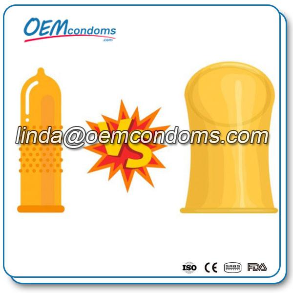 Female condom Vs Male condom