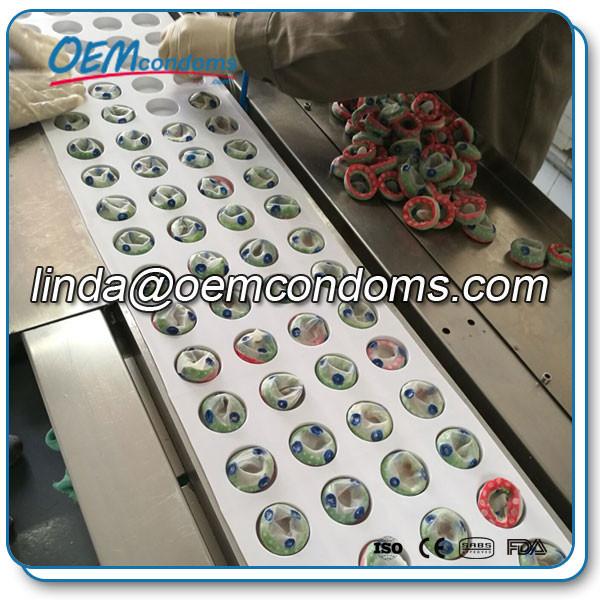 spike condom, spike condom blister pack. custom private lable blister pack