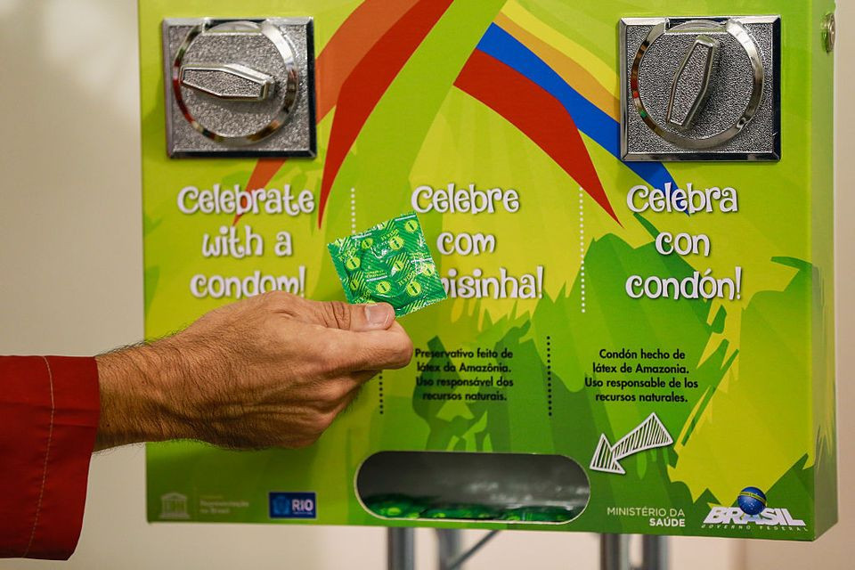 Olympics provide 450,000 latex condoms for athletes in Rio