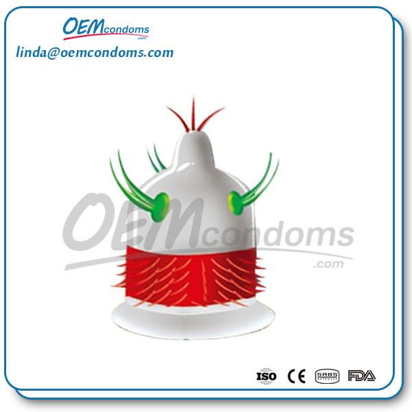 spike condom, spike condom supplier, custom spike condom