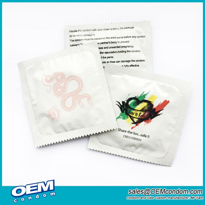 custom made condoms