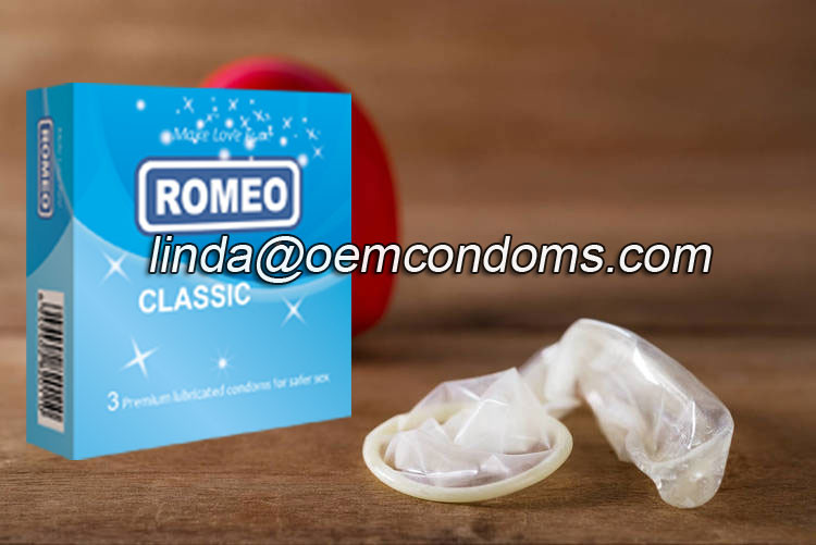 ROMEO branded condom