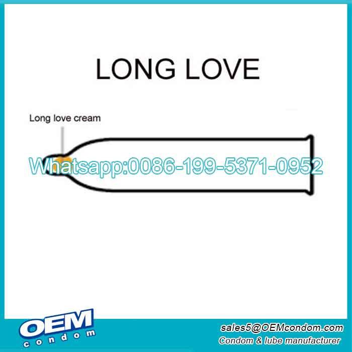 Custom timing condoms for men manufacturer
