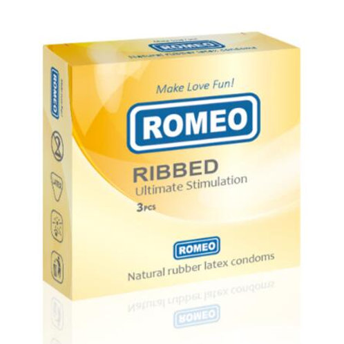 Romeo Ribbed Condoms