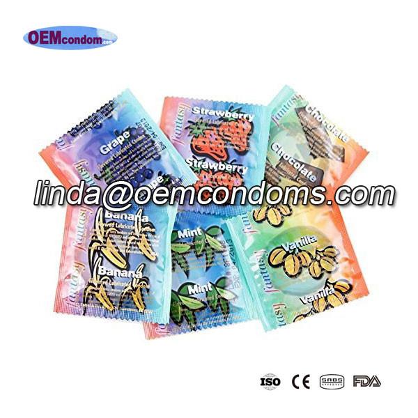 flavored condom manufacturer