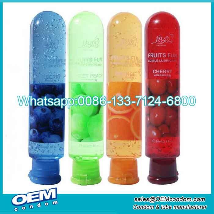 strawberry Durex lubricant gel custom manufacturer