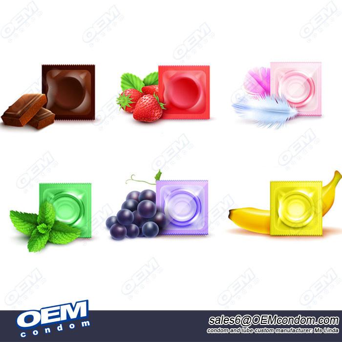 Oral Sex Condom, Fruity Flavored Condom, Oral condom manufacturer