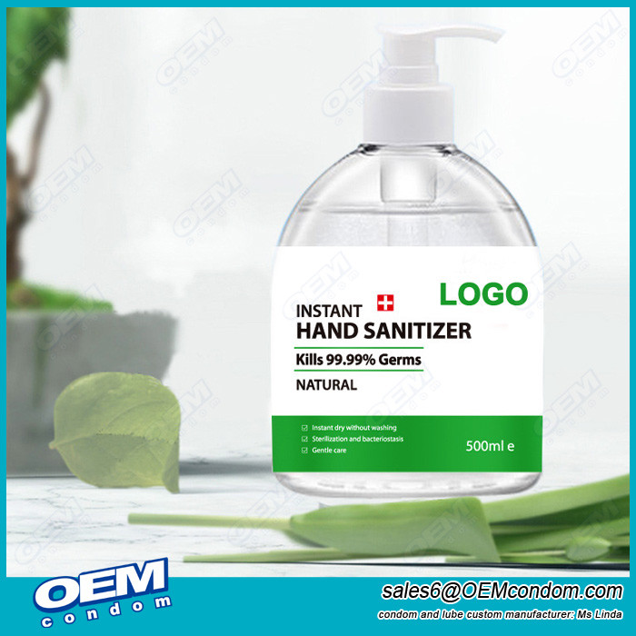 Customized Logo Disinfectant Hand Sanitizer