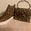 Thumbnail: side zipper hidden wedge casual sneakers/Leopard
