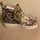 Thumbnail: Side zipper hidden wedges casual sneaker