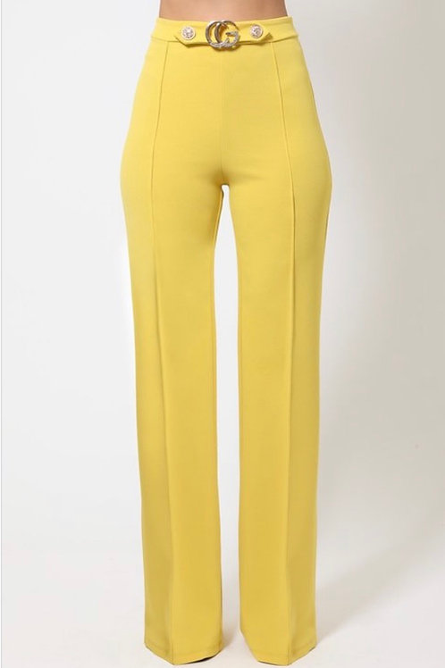 Dark Lemon Pants