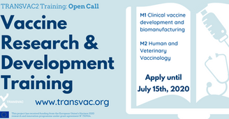 Training in Vaccinology and Manufacturing offered by TRANSVAC2