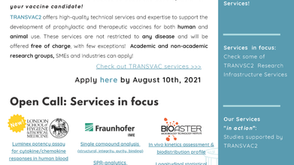 Open call: TRANSVAC2 Newsletter is out