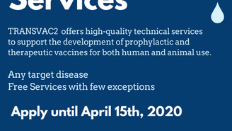 Vaccine development services: COVID19 vaccine projects encouraged to apply