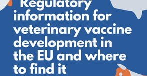 Webinar: Regulatory information for veterinary vaccine development in the EU and where to find it