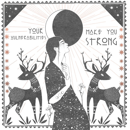 your vulnerabilities make you strong