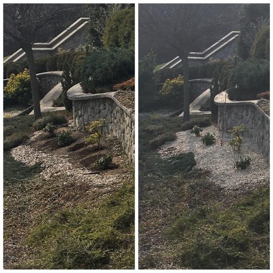 Terasovitá záhradka