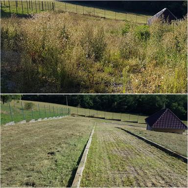 Kosenie a mulčovanie trávy
