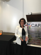 Dr. Pir receives CAPIC Distinguished Service Award
