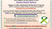 IMCES Inviting Your support on movement toward Mental Health Reform