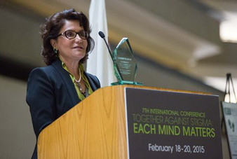 "Dr. Pir. PhD, Receives Each Mind Matters ""Community Champion Award"""