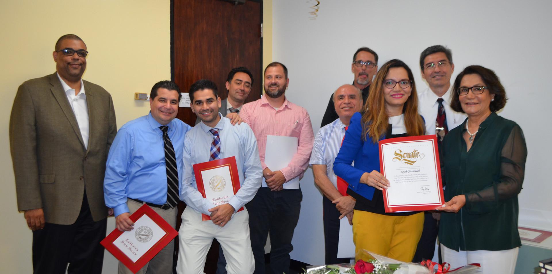 IMCES Doctoral Intern Graduation 2018
