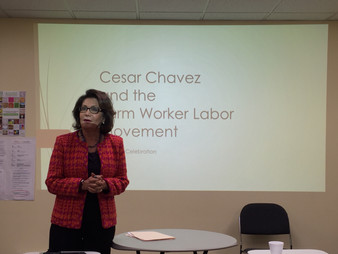 IMCES - WEEKLY CULTURAL DIVERSITY/INCLUSION TRAINING AND ADVOCACY PROGRAM  Celebrates  CESAR CHAVEZ
