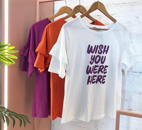 T shirt Wish You Were Here