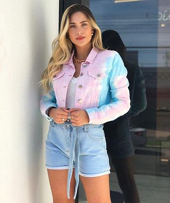 Jaqueta Tie Dye