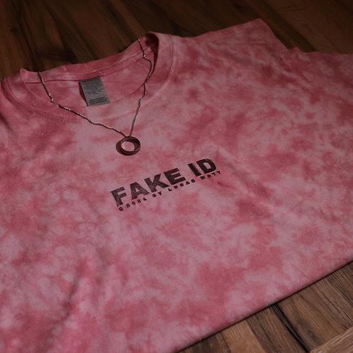 'Fake ID' T-Shirt (Blush)