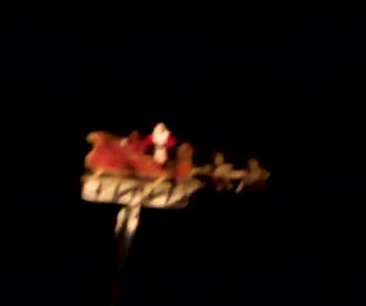 Ivoryton's Flying Santa