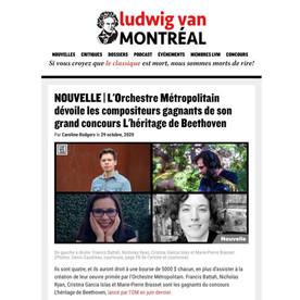 Ludwig van Montréal (Octobre 2020)