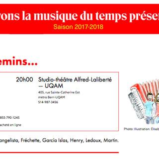 Par 5 chemins... Concert 2018, Montreal - Canada