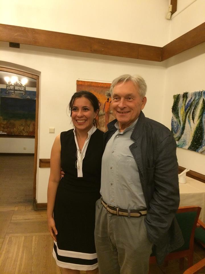 Cristina García & Zygmunt Krauze