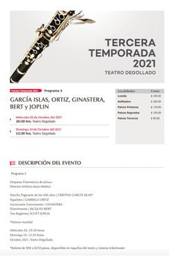 Orquesta Filarmónica de Jalisco, TERCERA TEMPORADA